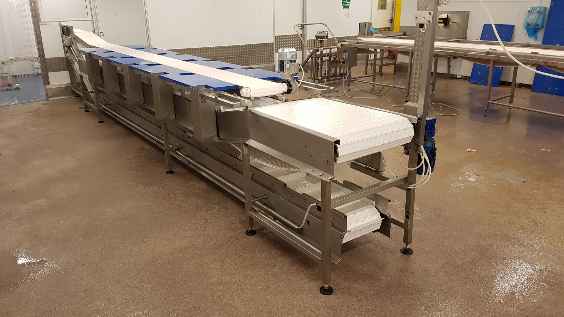 Food Grade Modular Belt Food Conveyors