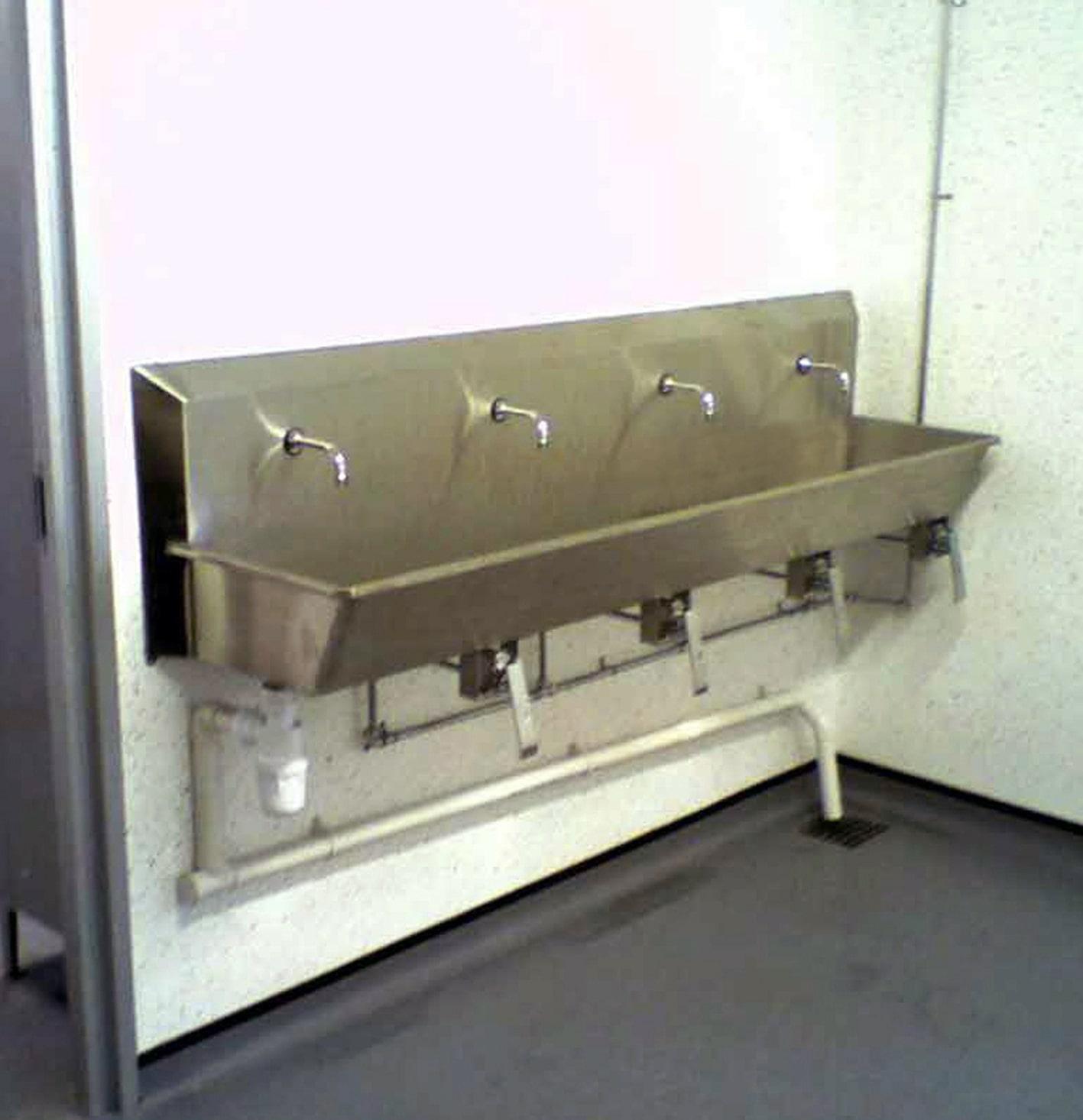 Washroom Products: Stainless Steel Sinks & Washroom Equipment